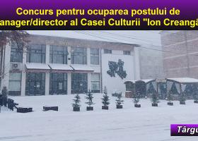 Se scoate la concurs postul de director al Casei Culturii din Târgu Neamț