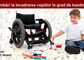 Schimbări la încadrarea copiilor în grad de handicap