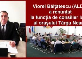 Demisie în Consiliul Local al orașului Târgu Neamț