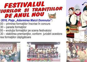 2 ianuarie, Târgu Neamț: Programul Festivalului Obiceiurilor și Tradițiilor de Anul Nou