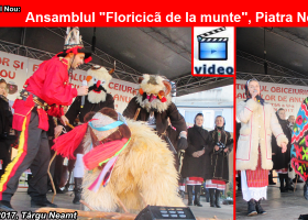 """Tradiții de Anul Nou: Ansamblul """"Floricică de la munte"""", al Centrului pentru Cultură și Arte """"Carmen Saeculare"""" Neamț"""