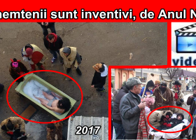 Târgnemțenii sunt inventivi de Anul Nou: în 2016- banda mortului, în 2017- banda îmbăiatului în aer liber