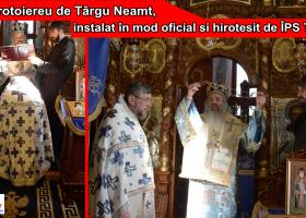 Cuvântul pr. Nicolae Axentioi la instalarea în mod oficial în funcția de protoiereu al Protopopiatului Târgu Neamț