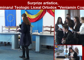"""Tinerii de la Seminarul Teologic """"Veniamin Costachi"""" au talent!"""