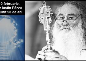 98 de ani de la nașterea părintelui Iustin Pârvu