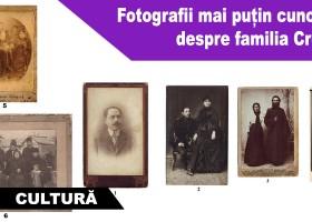 Fotografii mai puțin cunoscute despre familia Creangă