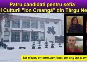 Patru candidați în cursa pentru șefia Casei Culturii din Târgu Neamț