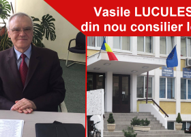 Vasile Luculescu, din nou consilier local