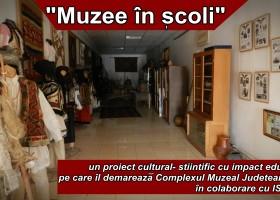 """""""Muzee în școli"""", un proiect cultural-științific menit să abordeze comunitățile locale din județul Neamț prin prisma colecțiilor muzeale școlare"""