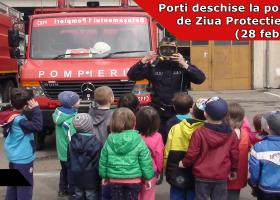 Marți, 28 februarie se deschid porțile la Detașamentul de Pompieri Târgu Neamț