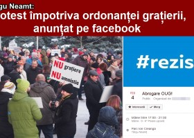 Se anunță proteste și la Târgu Neamț