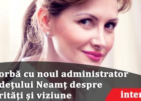 Oana Bulai este noul administrator public al județului Neamț