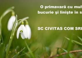 SC Civitas Com SRL  – Felicitare de Mărțișor