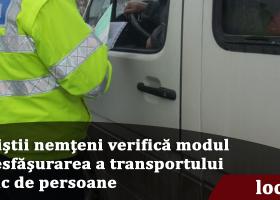IPJ Neamț: Polițiștii rutieri verifică modul de desfășurarea a transportului public de persoane