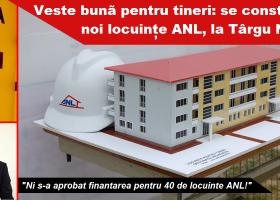 În câteva luni vor fi construite noi locuințe ANL în orașul Târgu Neamț