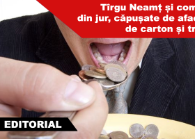 Tîrgu Neamț și comunele din jur, căpușate de afaceriști de carton și trântori