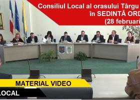 Ședința ordinară a Consiliului Local Târgu Neamț din 28 februarie 2017