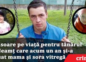 Tânărul din Ghindăoani care și-a ucis mama și sora vitregă în Italia a primit închisoare pe viață