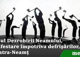 Marșul Dezrobirii Neamului la Piatra-Neamț, sâmbătă, 25 martie