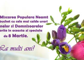 PMP Neamț – Felicitare de 8 Martie