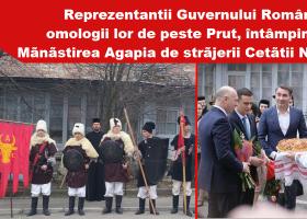 Delegațiile Guvernelor României și R. Moldova au vizitat Mănăstirea Agapia