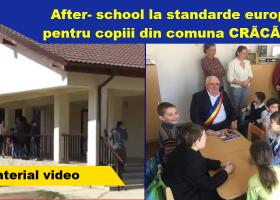 Centru after – school la standarde europene, inaugurat la Crăcăoani