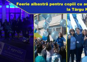 Zile albastre la Târgu Neamț, pentru conștientizarea autismului