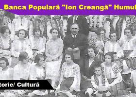 """Banca Populară """"Ion Creangă"""" Humuleşti (1901- 1946)"""