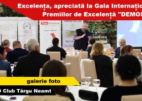 """Laureați la Gala Internaţională a Premiilor de Excelenţă """"DEMOS T.N."""""""