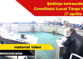 Legislativul târgnemțean, în ședință extraordinară