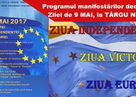 Manifestări dedicate zilei de 9 mai, la Târgu Neamţ