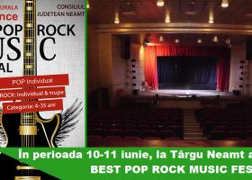 """În curând, """"Best Pop Rock Music Festival"""" la Târgu Neamț"""