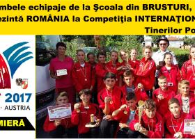 Elevii din comuna BRUSTURI reprezintă România la Competiţia Internaţională a Tinerilor Pompieri
