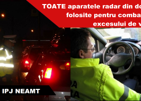 Peste 30 de permise auto reținute de 1 mai, pe drumurile nemțene