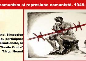 """""""Anticomunism şi represiune comunistă. 1945- 1989"""", la Liceul """"Vasile Conta"""" Târgu Neamț"""