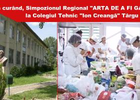 """În curând, Simpozionul Regional """"Arta de a fi gazdă"""""""
