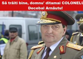 Decebal Arnăutu, colonel de pe vremea lui Traian