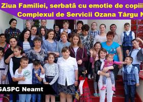 Ziua Familiei, în centrele de plasament