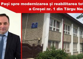 Creșa din Târgu Neamț, proiect pentru reabilitare și modernizare
