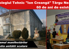 """De la Școala profesională de mecanici agricoli, la Colegiul Tehnic """"Ion Creangă"""" Târgu Neamț"""