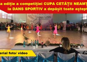 Regal de dans sportiv la Târgu Neamț