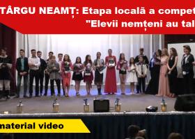 Elevii din Târgu Neamț au talent! Vezi cine a câștigat competiția: