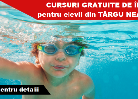 "La Târgu Neamț, Școala de Vară ""Swim For Fun"""