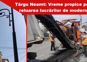Târgu Neamț, șantier oficial deschis