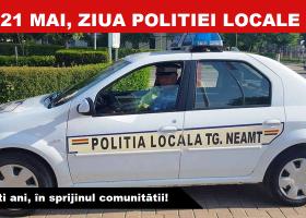 21 mai, Ziua Poliției Locale