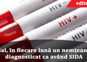 În fiecare lună este diagnosticat un nou caz de SIDA în Neamț