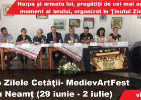 Detalii despre Zilele Cetății- MedievArtFest Târgu Neamț (conferință de presă)