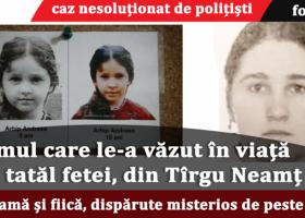 Mamă și fiică din județul Neamț, dispărute fără urmă de mai bine de 10 ani