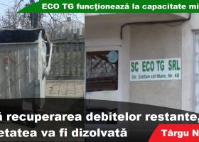 ECO TG funcționează la capacitate minimă