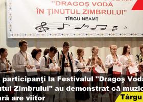 """Festivalul de muzică populară """"Dragoș Vodă în Ținutul Zimbrului"""", început promițător"""